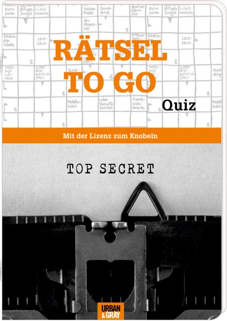 Rätselheft: Rätsel to go (Urban&Gray)