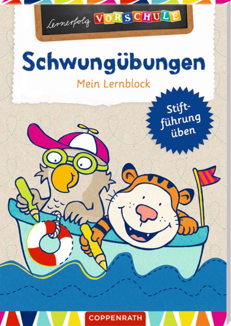Lernerfolg Vorschule: Schwungübungen - Mein Lernblock