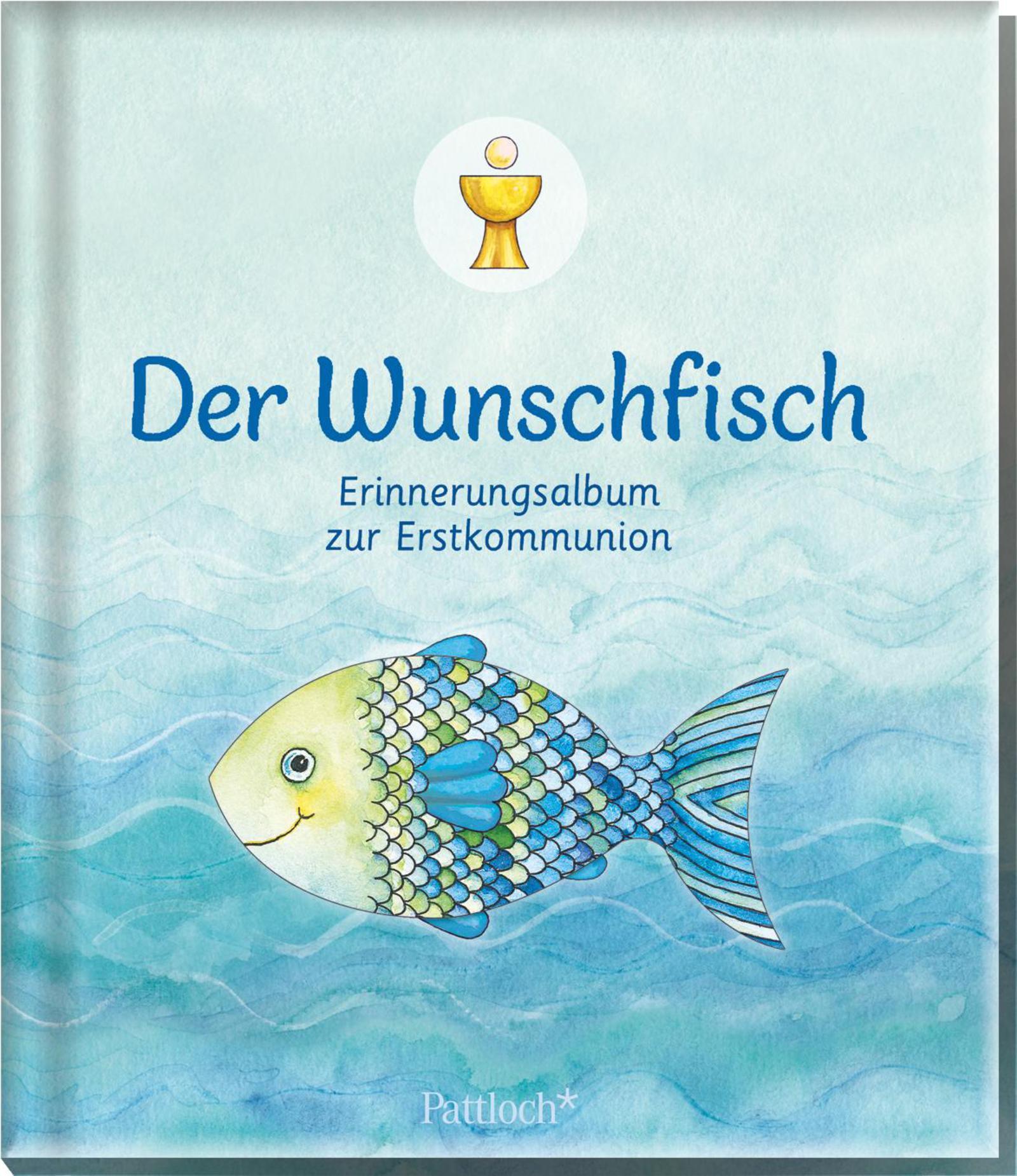Der Wunschfisch - Erinnerungsalbum zur Erstkommunion