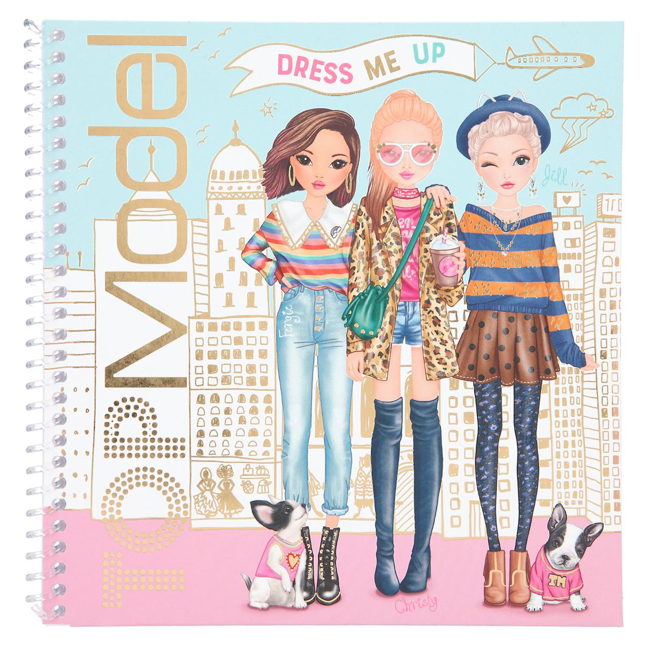 TOPModel Dress Me Up Stickerbuch