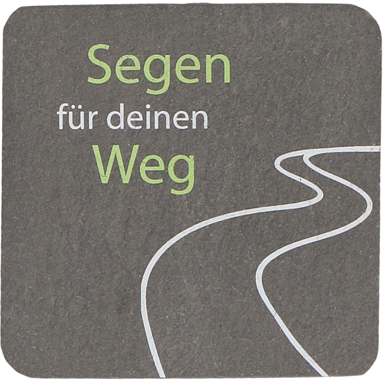 """Schiefermagnet Weg """"Segen für deinen Weg"""""""