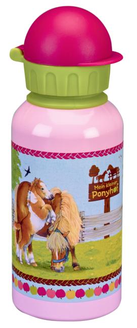 Alu-Trinkflasche Mein kleiner Ponyhof (0,4 l)