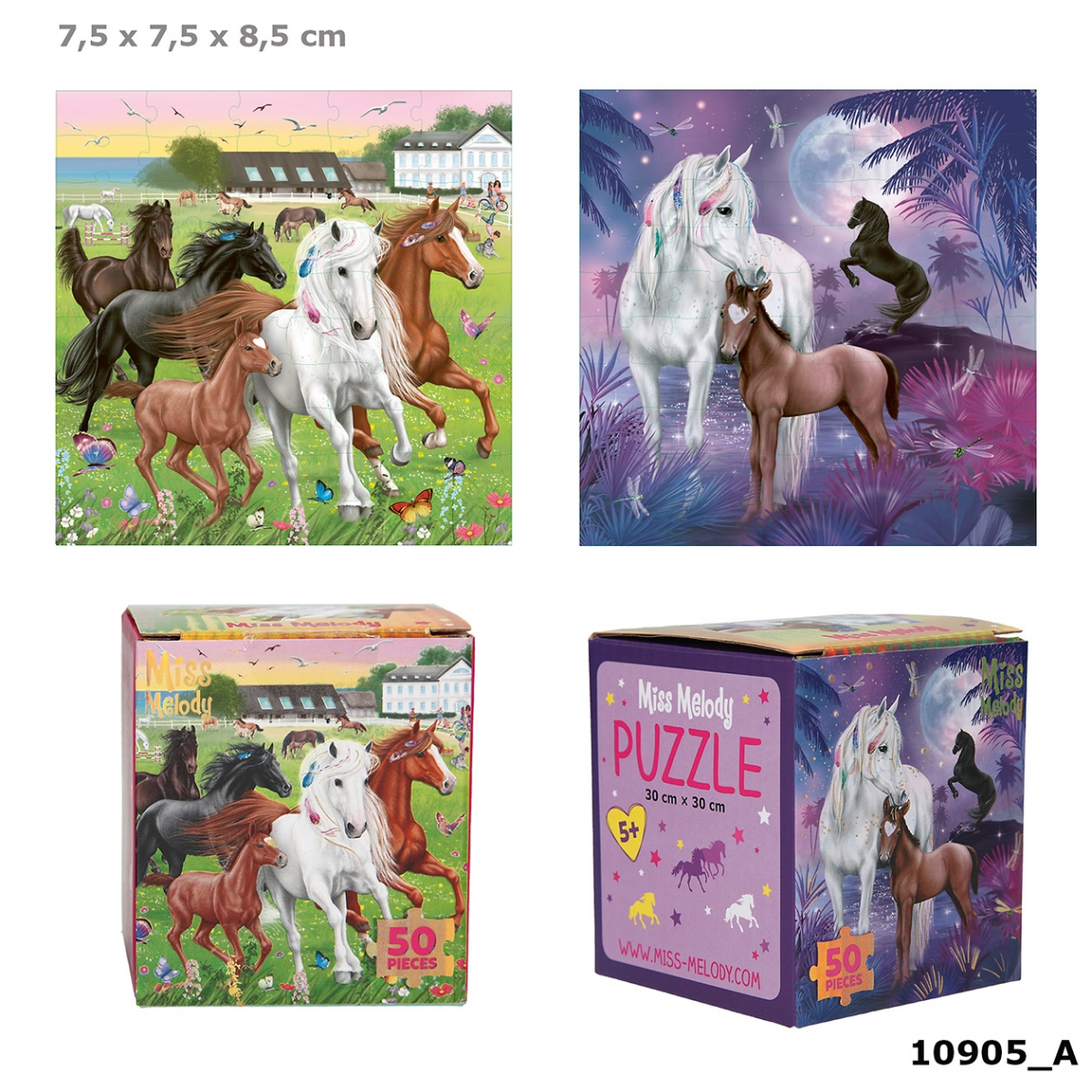 Miss Melody Puzzle 50 Teile