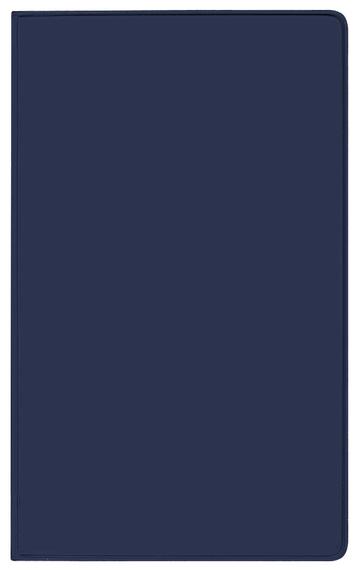 Taschenkalender Modus XL geheftet PVC blau 2022
