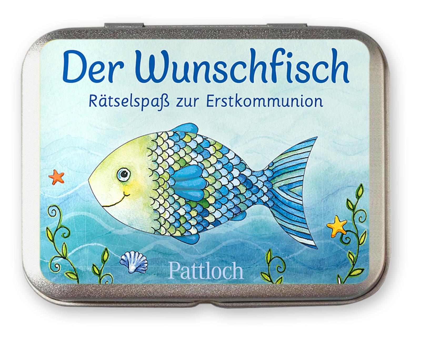 Der Wunschfisch - Rätselspaß zur Erstkommunion Metallbox