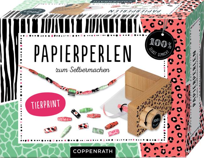 Papierperlen zum Selbermachen - Tierprint (100% s.g.)