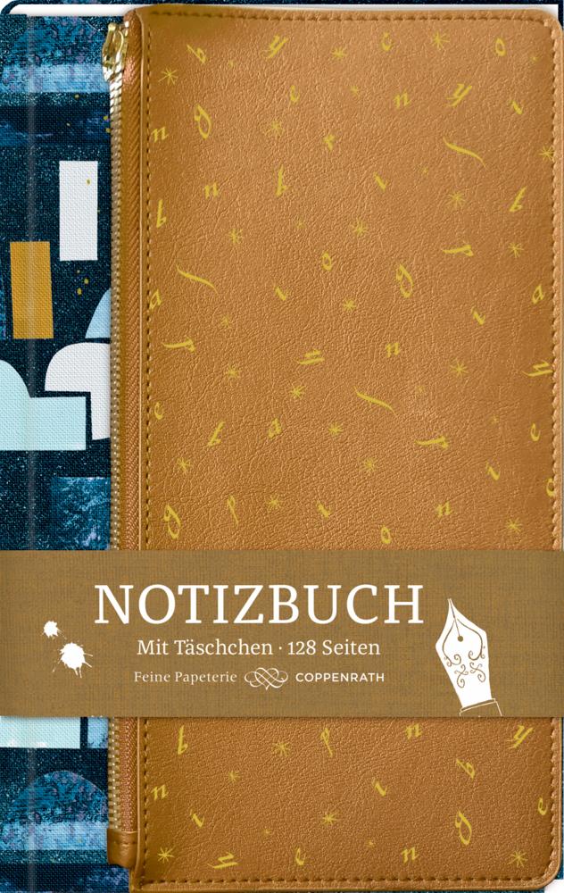 Eintragbuch mit Täschchen - Notizen (BücherLiebe!)