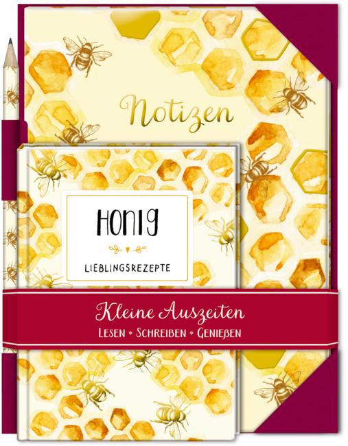 Kleine Auszeiten: Honig (Geschenkset)