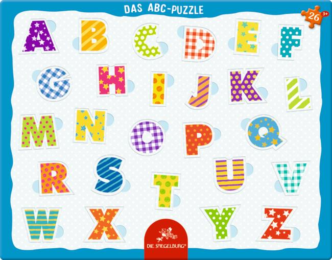 Rahmenpuzzle Das ABC (26 Teile)
