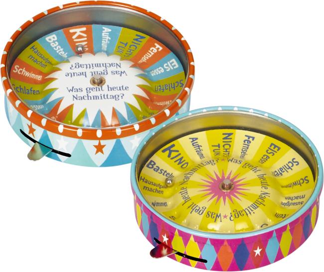 Mini-Roulette Entscheidungshelfer Bunte Geschenke