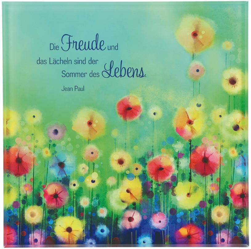 """Acrylglasrelief """"Die Freude..."""""""