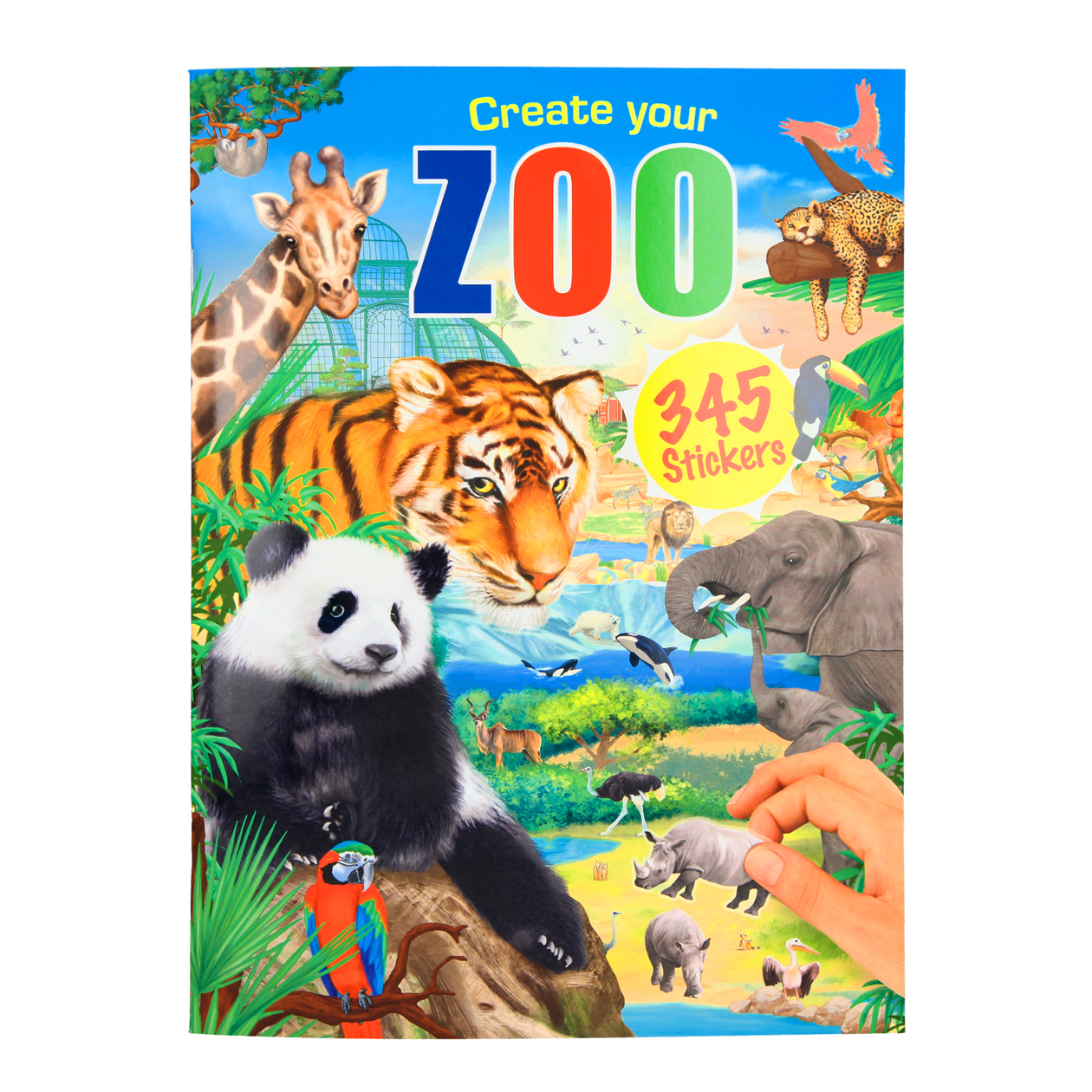 Create your Zoo - Stickerbuch