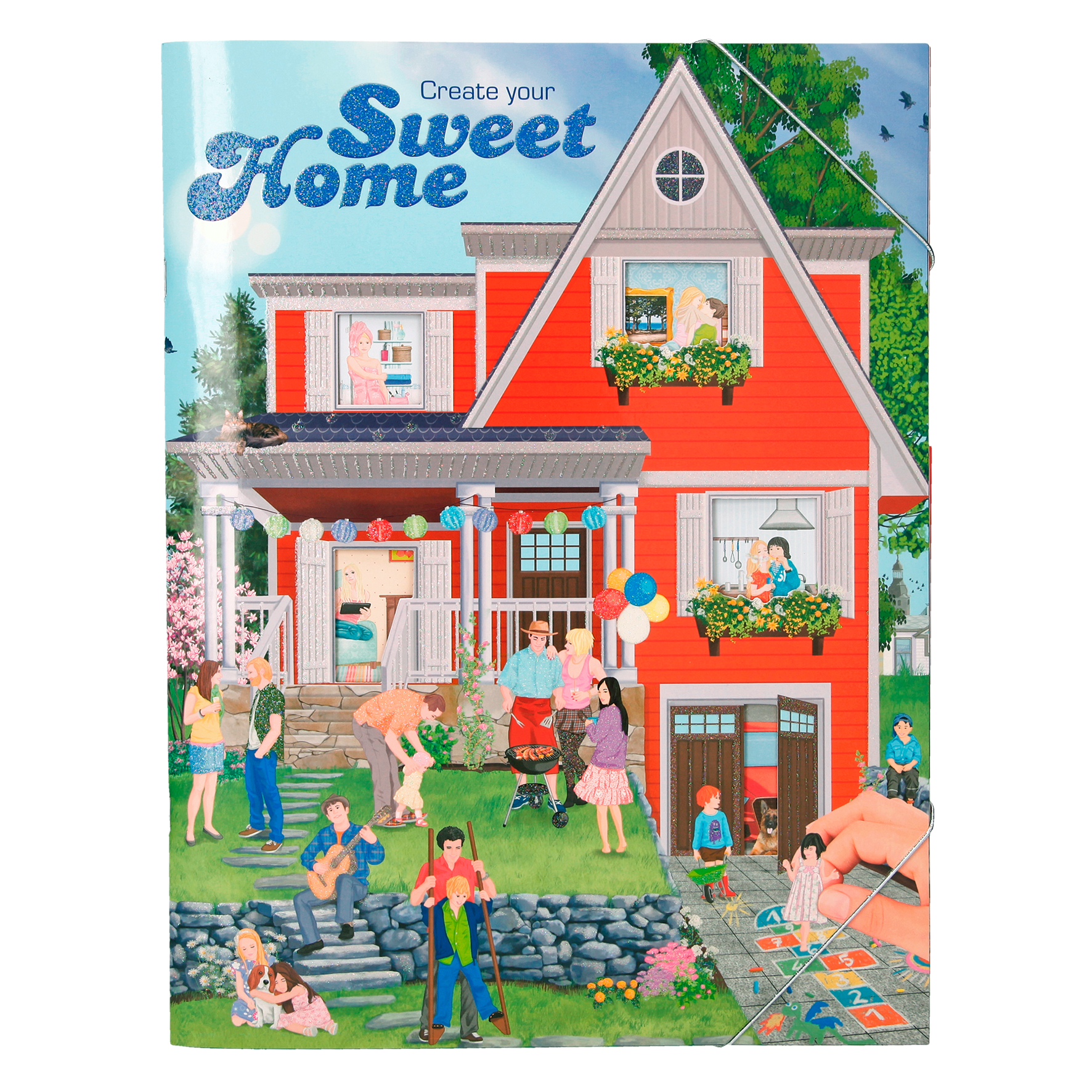 Create your Sweet Home - Stickerbuch