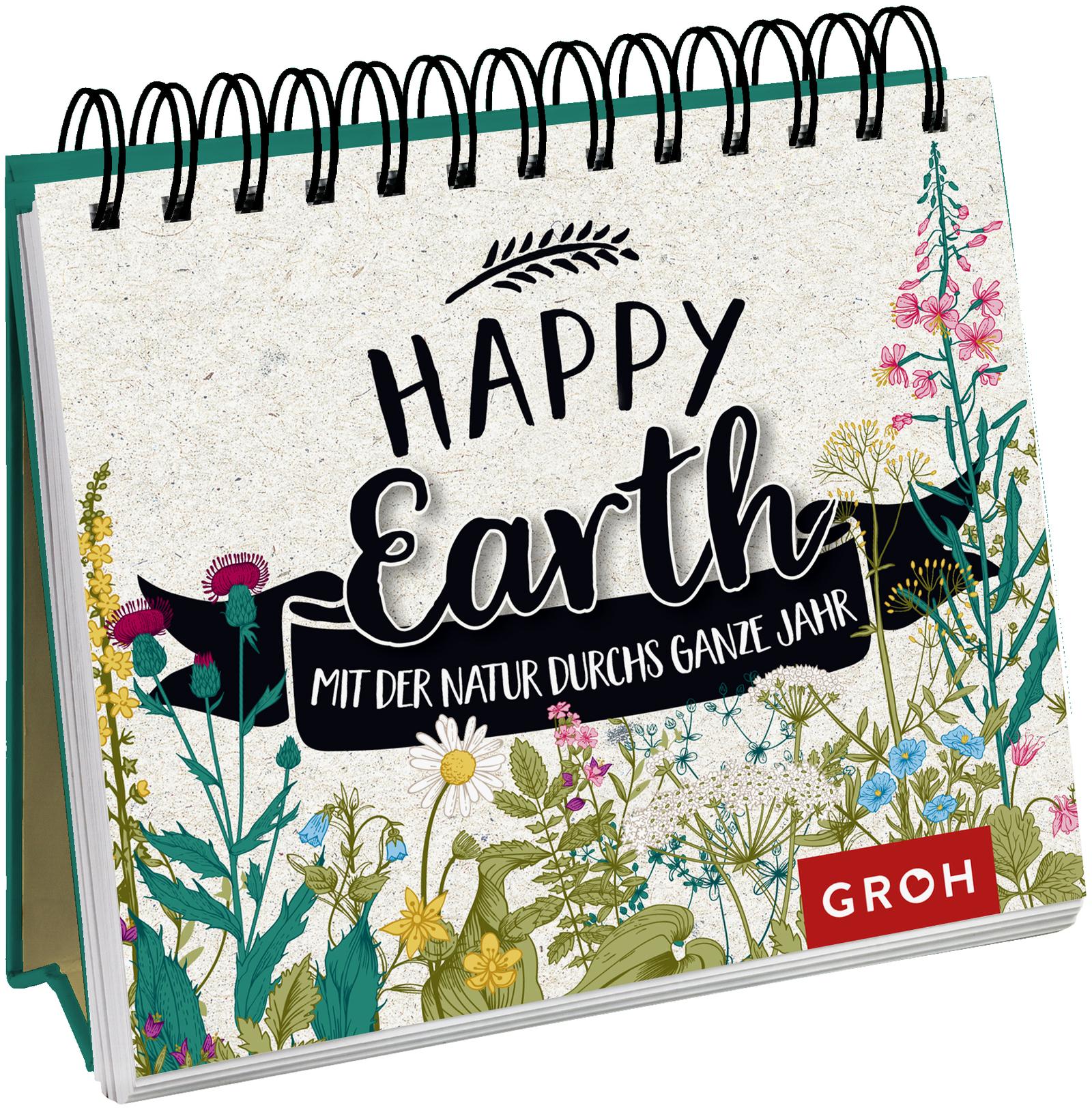 Happy Earth - mit der Natur durchs ganze Jahr