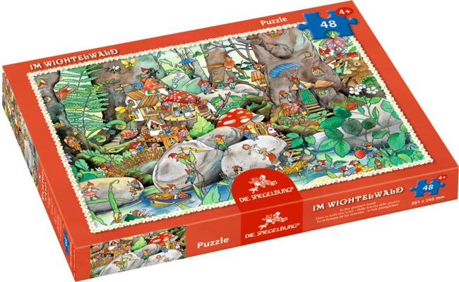 Boxpuzzle Im Wichtelwald (48 Teile)