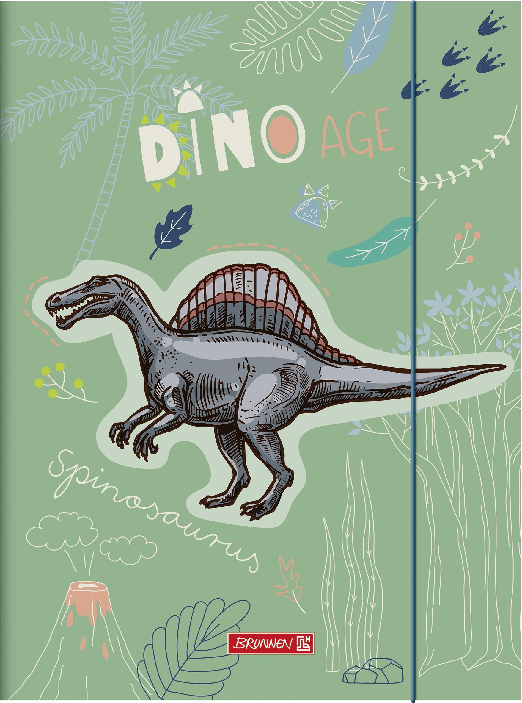 Sammelmappe A3 Dinosaurier