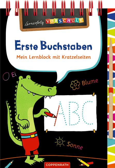 Lernerfolg Vorschule: Erste Buchstaben (Kratzel-Lernblock)