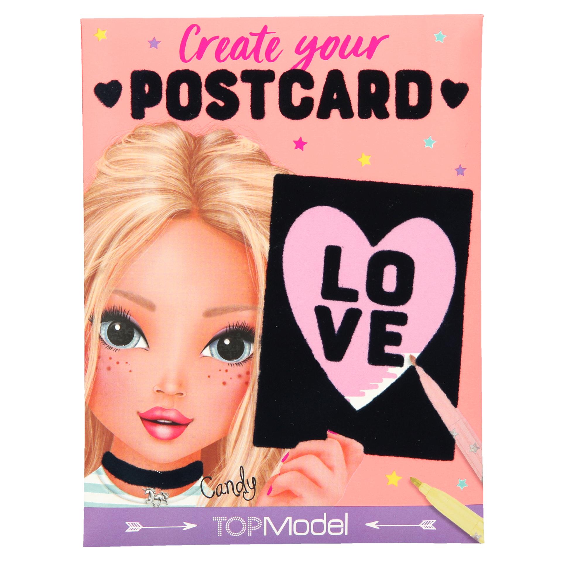 TopModel Create your Postcard