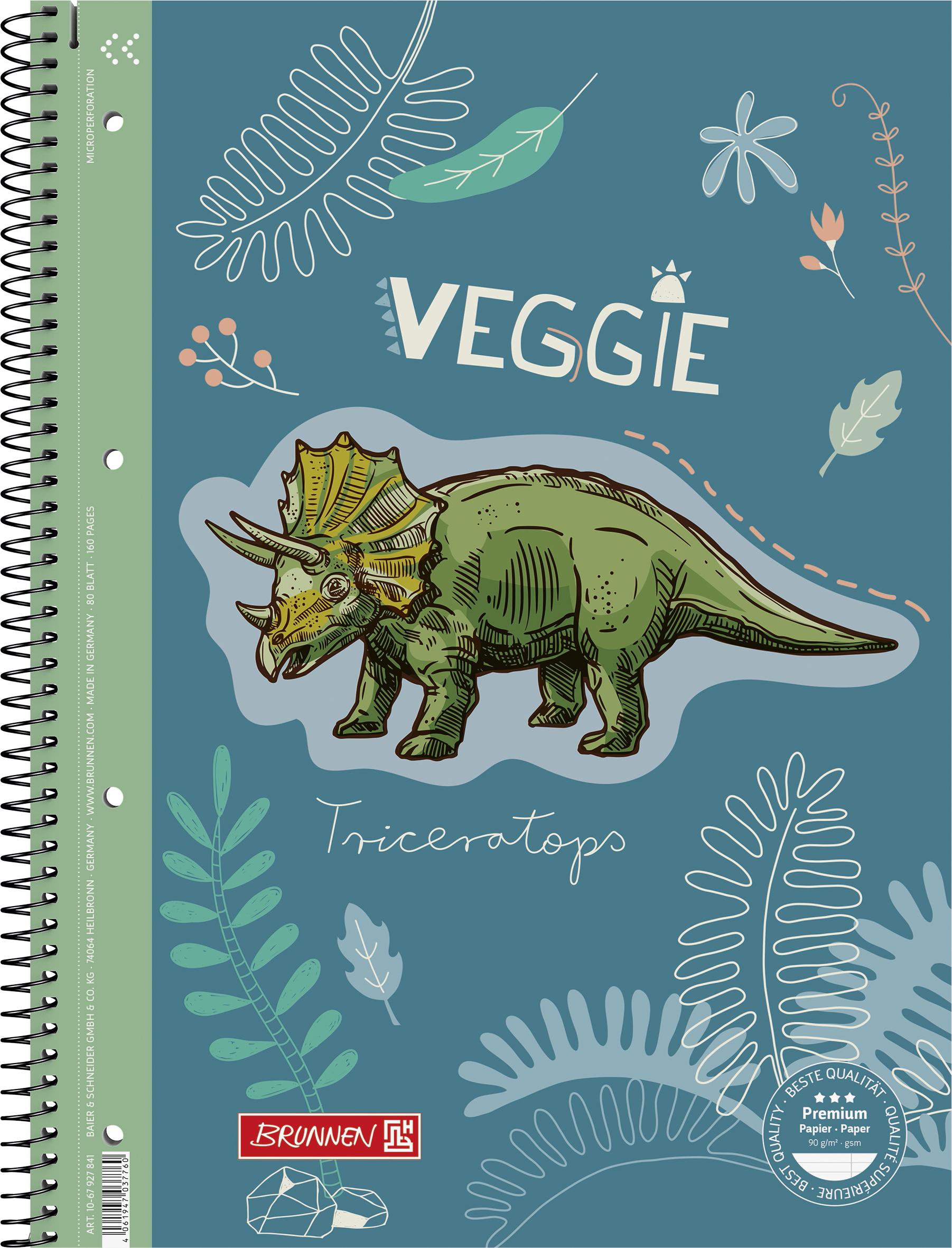 Collegeblock A4 Lin. 27 Dinosaurier