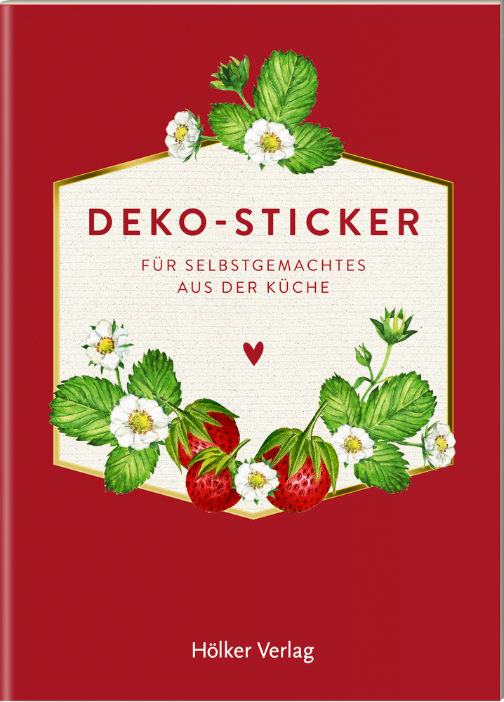 Deko-Sticker, Rote Beeren (Küchenpapeterie)