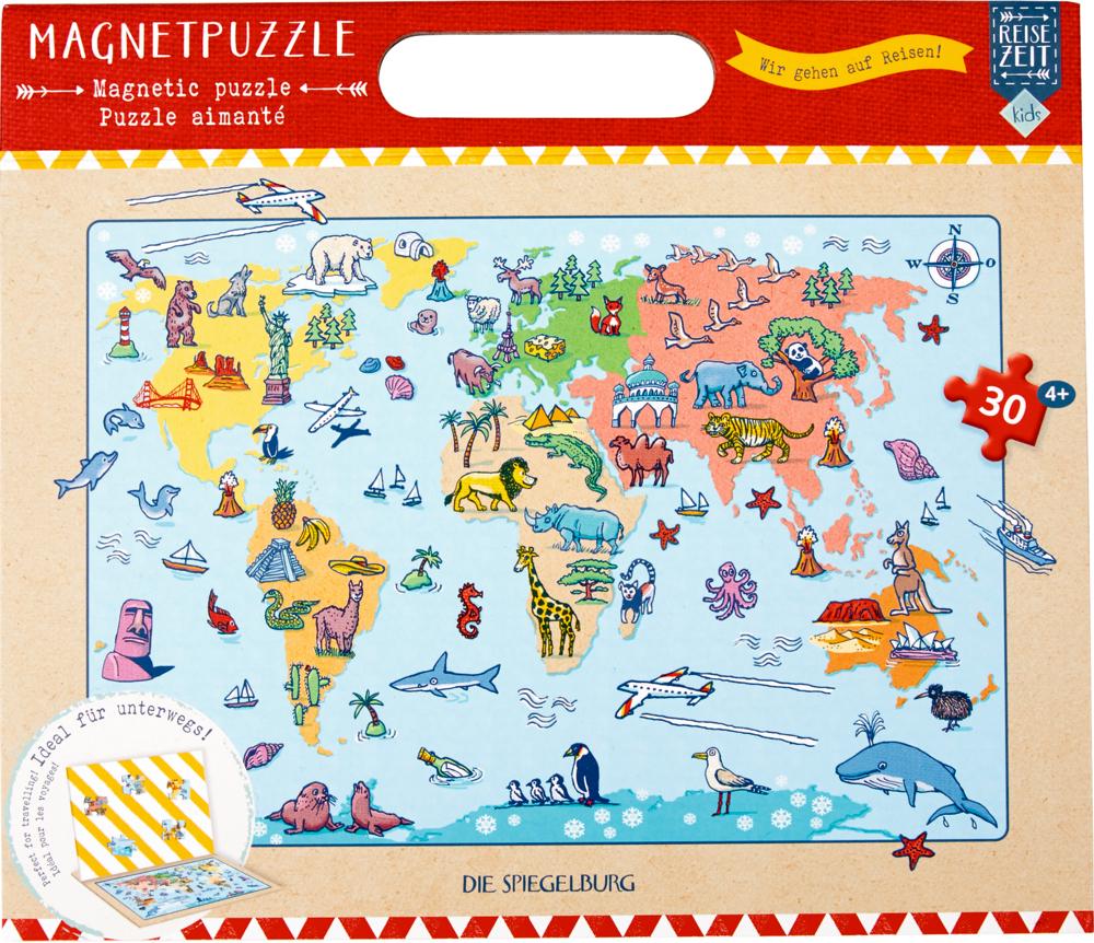 """Magnetpuzzle """"Wir gehen auf Reisen!"""" Reisezeit Kids (30 T.)"""