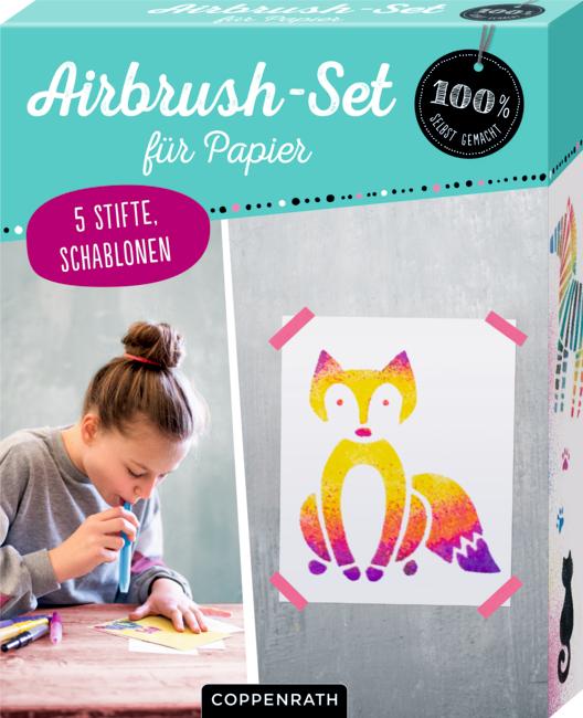 Airbrush-Set für Papier (100% selbst gemacht)