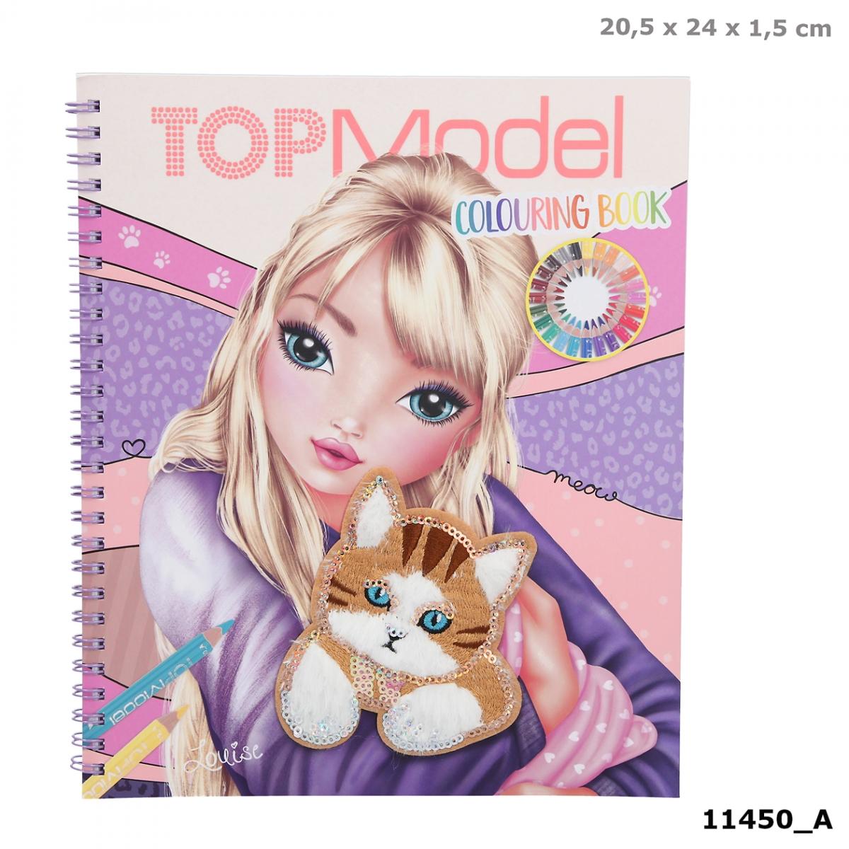 TOPModel Malbuch CAT