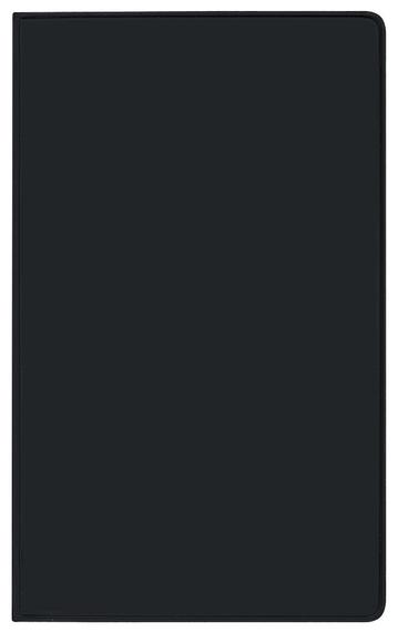 Taschenkalender Modus geheftet PVC schwarz 2022