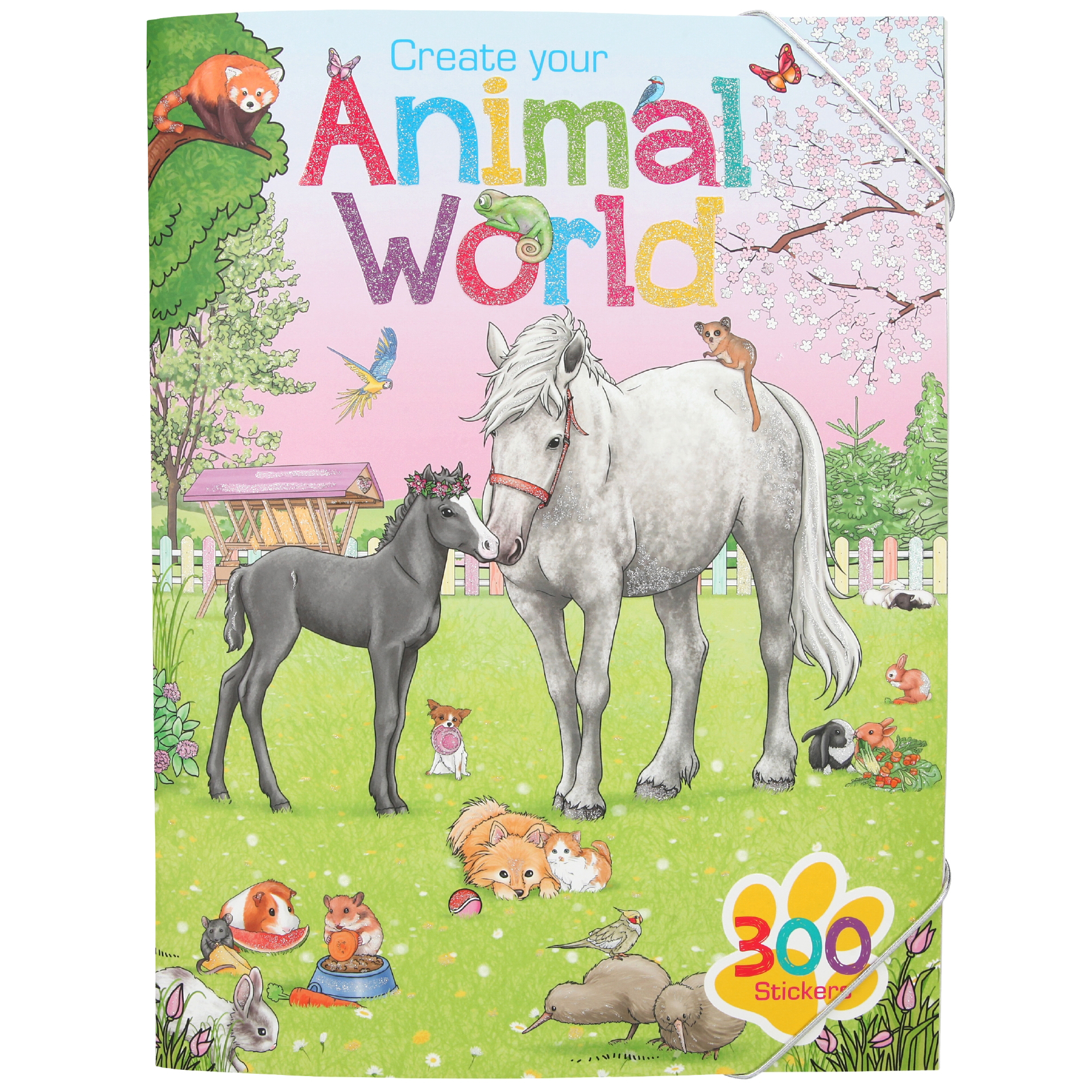 Create your Animal World - Stickerbuch