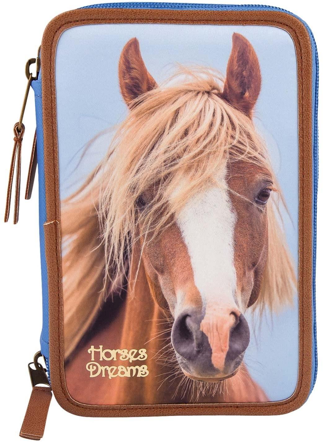 Horses Dreams 3-fach Federtasche