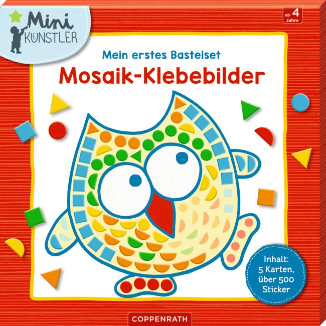 Mein erstes Bastelset: Mosaik-Klebebilder (Mini-Künstler)