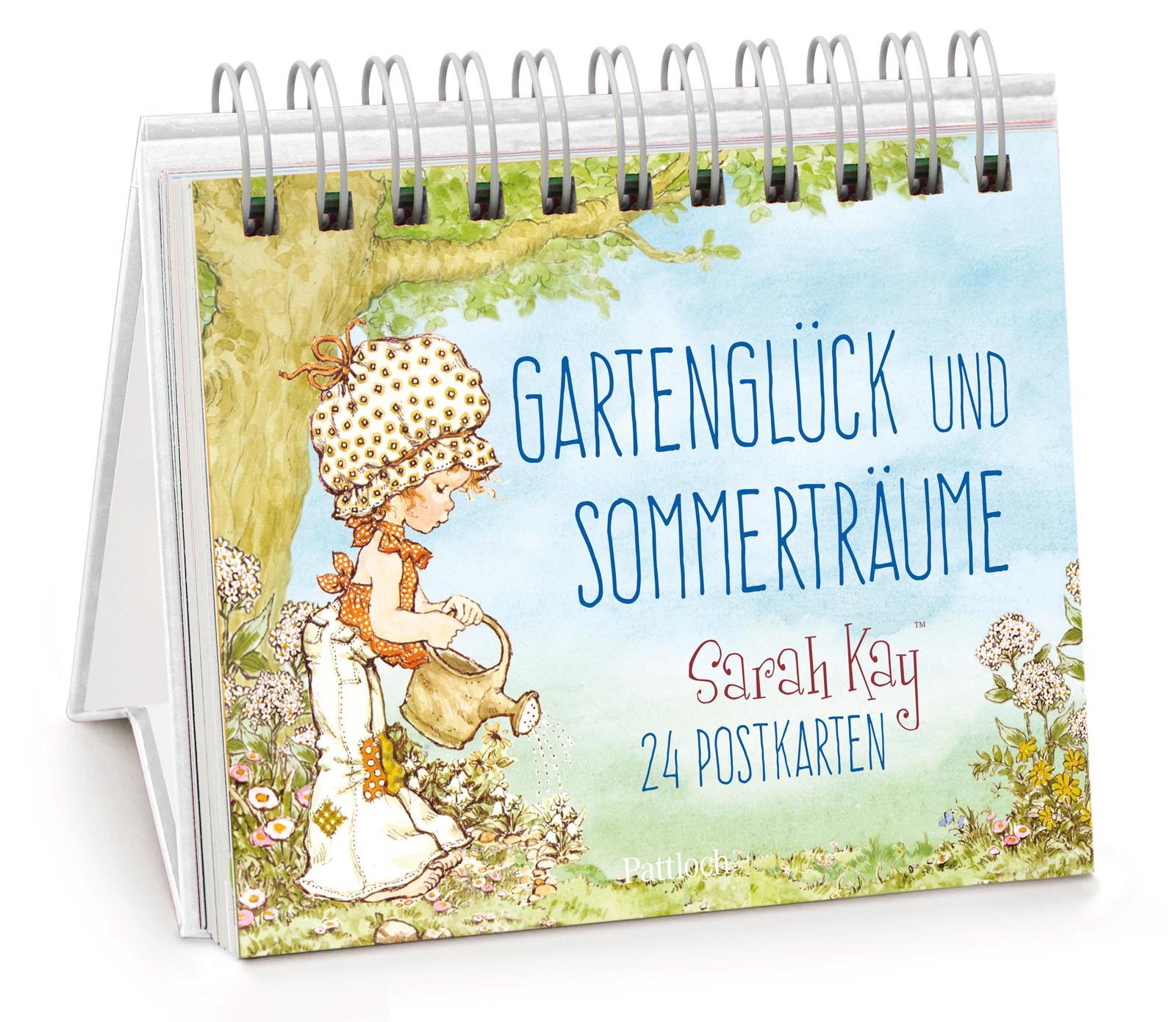 Gartenglück und Sommerträume mit Sarah Kay - 24 Postkarten