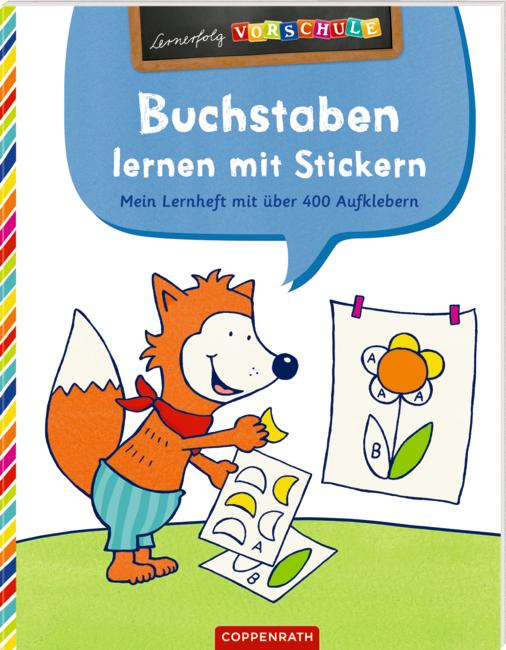 Lernerfolg Vorschule: Buchstaben lernen mit Stickern