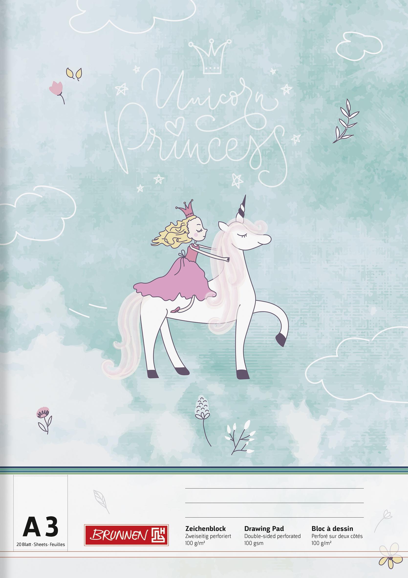 Zeichenblock A3 Princess