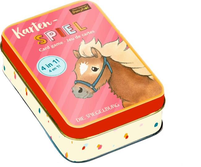 Kartenspiel 4 in 1 Mein kl. Ponyhof